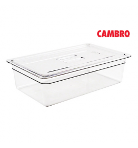 Polycarbonate Gastronorm Pan Cover with Handle
