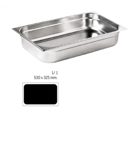 Stainless Steel 1/1 Gastronorm Container