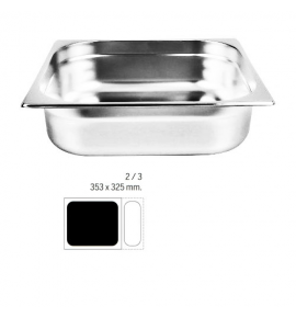Stainless Steel 2/3 Gastronorm Container