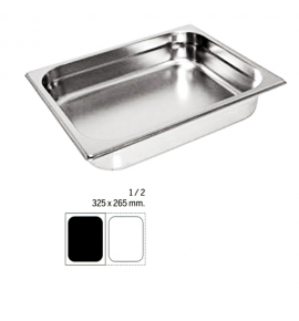 Stainless Steel 1/2 Gastronorm Container