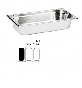 Stainless Steel 1/3 Gastronorm Container