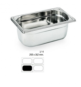 Stainless Steel 1/4 Gastronorm Container