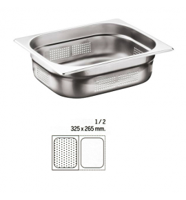 Stainless Steel 1/2 Perforated Gastronorm Container