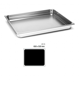 Stainless Steel 2/1 Perforated Gastronorm Container