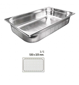 Stainless Steel 1/1 Perforated Gastronorm Container