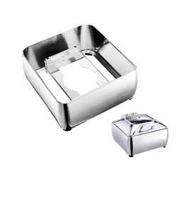 Stainless Steel Enclosed Stand for Deluxe Square Chafer