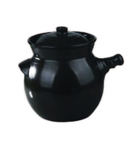 High Heat Herbal Soup Pot with 1 Handle