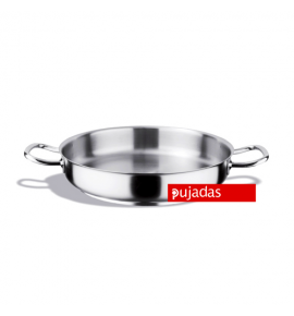 Stainless Steel Paella Pan with Sandwich Bottom