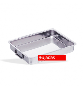 Stainless Steel Roasting Pan with Falling Handles