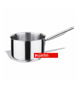 Stainless Steel Deep Saucepan with Sandwich Bottom and Hollow Handle
