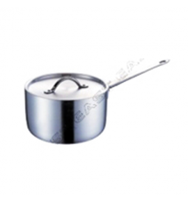 Aluminium Heavy Duty Sauce Pan with Lid