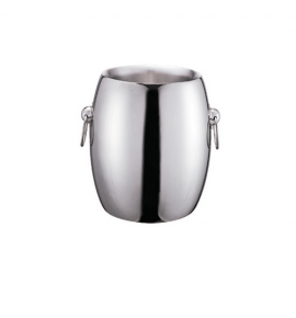 Stainless Steel French Style Double Wall Champagne Bucket