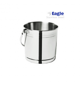 Stainless Steel Ice Bucket with Separative Disk
