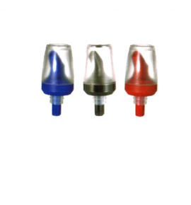 Chrome Plated Free Flow Pourer with Hinged Cap