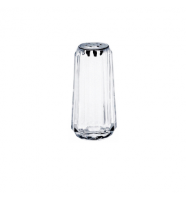 Acrylic 6-Hole Pepper Shaker with Stainless Steel Top