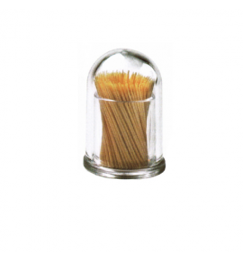 Acrylic Toothpick Holder with Cover
