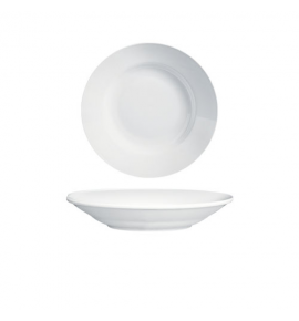 Imperial White Coupe Oval Platter