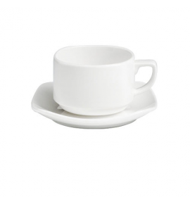 Square Coupe Cup & Saucer